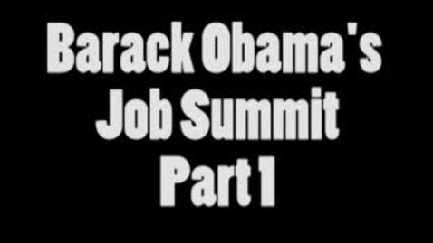 Thumbnail for entry Obama Job Summit Part 1: KEC TV Student Report