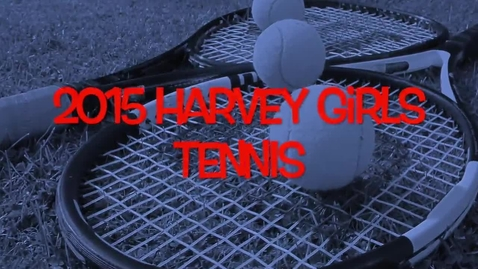 Thumbnail for entry HHS Girls Tennis 2015
