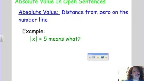 Thumbnail for entry Absolute Value Inequalities