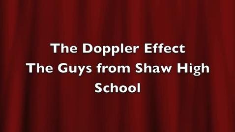 Thumbnail for entry Doppler Effect