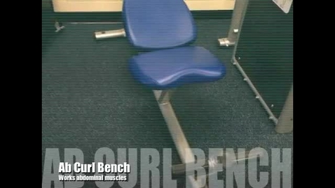 Thumbnail for entry Ab Curl Bench Demo