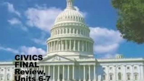 Thumbnail for entry U-46 Civics Final Exam Review 6-7. US and IL Constitutions