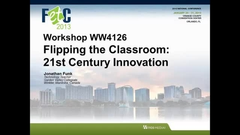 Thumbnail for entry FETC 2013 - Introduction Video