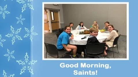Thumbnail for entry Saints @ 8, January 30, 2018