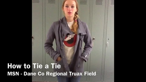 Thumbnail for entry How To Tie a Tie