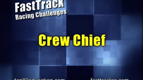 Thumbnail for entry Careers: Crew Chief