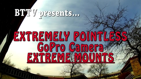 Thumbnail for entry Extremely Pointless GoPro - Camera Mounts