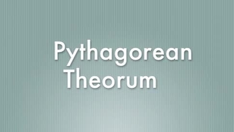 Thumbnail for entry Quarter 3 BM, Pythagorean Theorem/Midpoint Formula