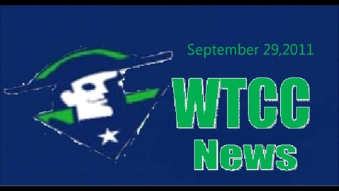 Thumbnail for entry WTCC News 9-30-11