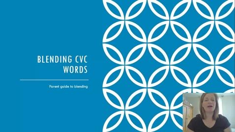 Thumbnail for entry Blending CVC words