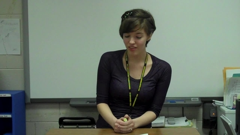 Thumbnail for entry Spring 2012 – Narrative Speech 1 – Hayley Gerlach CAMERA DIED -- Mr. Gilbert's class