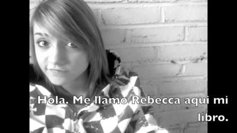 Thumbnail for entry Rebecca's Spanish Benchmark