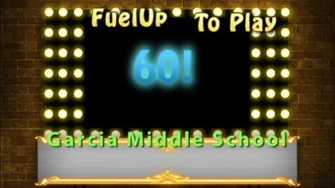Thumbnail for entry Garcia Kicks off Fuel Up