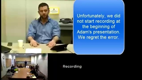 Thumbnail for entry OWL Videoconference: AOE Local 302 Apprenticeship Presentation
