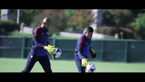 Thumbnail for entry TIM HOWARD - US MEN'S NATIONAL TEAM GOALKEEPER