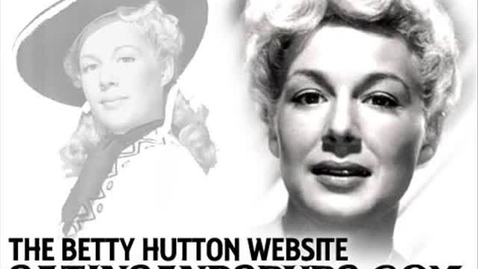 Thumbnail for entry Betty Hutton - Orange Colored Sky (1950)
