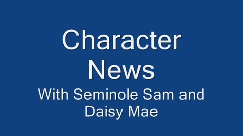 Thumbnail for entry Character News February 22, 2010