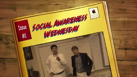 Thumbnail for entry Social Awareness Wednesday