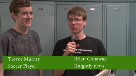 Thumbnail for entry Colony Soccer Interview
