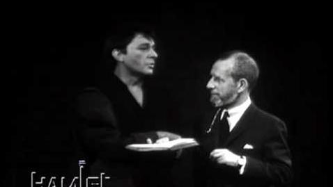 "Thumbnail for entry Hamlet and Polonius (""words words"") - Richard Burton (1964)"