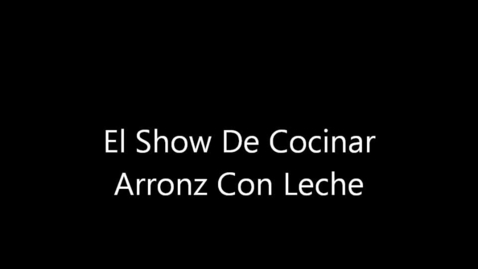 Thumbnail for entry El Show De Cocinar