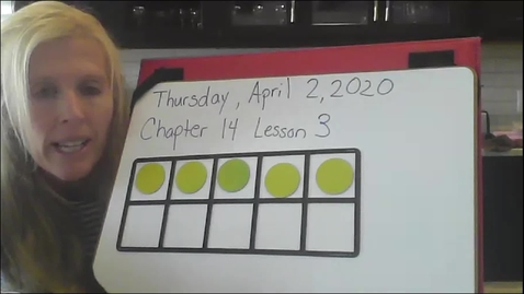 Thumbnail for entry Thursday, Math Chp. 14  Lesson 3