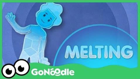 Thumbnail for entry Melting - Flow | GoNoodle - Social Emotional Learning