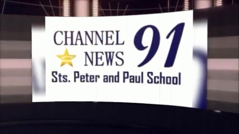 Thumbnail for entry 04/07/2014 - Channel 91 News - Sts. Peter and Paul School