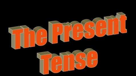 Thumbnail for entry The Present Tense