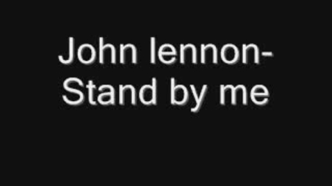 Thumbnail for entry Stand by Me John Lennon