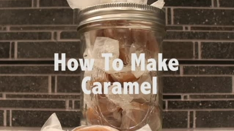 Thumbnail for entry DIY Sweets: How To Make Caramel