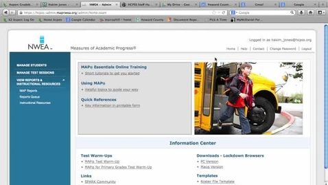 Thumbnail for entry Student Progress Report: NWEA MAP Testing