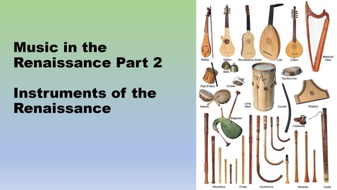 Thumbnail for entry Renaissance part 2 Video
