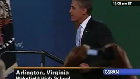 Thumbnail for entry Pres. Obama National Address to Students