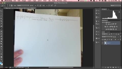 Thumbnail for entry Advanced letterhead Creation