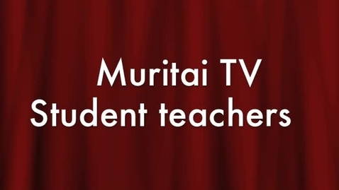 Thumbnail for entry Trainee Teachers