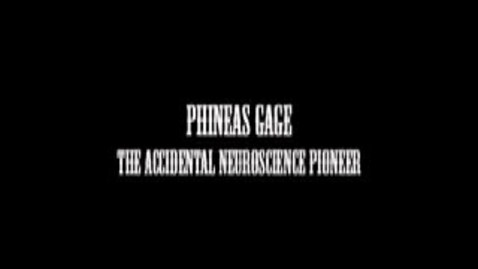 Thumbnail for entry Phineas Gage