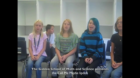 Thumbnail for entry The Galileo School Presents: Call Me Maybe Lipdub