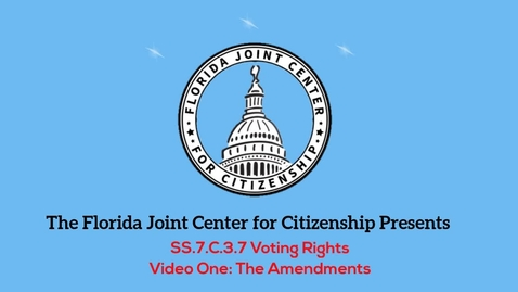 Thumbnail for entry 3.7 Voting Rights_ The Amendments