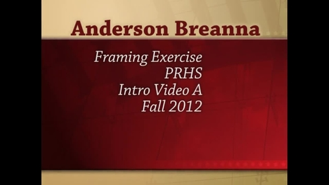 Thumbnail for entry Breanna Framing Exercise- Crows