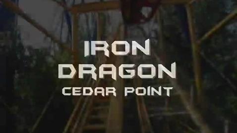 Thumbnail for entry Iron Dragon Front Seat on-ride POV Cedar Point