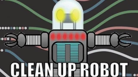 Thumbnail for entry CLEAN-UP ROBOT-   Song by: Mark D. Pencil --- Video by: Mr. Harry