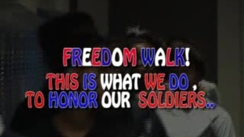 Thumbnail for entry Freedom Walk 2010