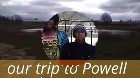Thumbnail for entry Blue Ridge Elementary Powell Gardens Trip - Group 7