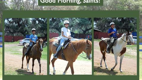 Thumbnail for entry Saints @ 8 - May 7, 2021