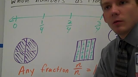 Thumbnail for entry Whole Numbers as Fractions