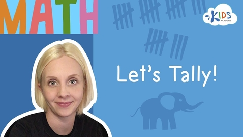Thumbnail for entry Counting with Tally Marks and Tally Charts   Math for  1st Grade   Kids Academy