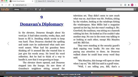 Thumbnail for entry Chs. 9-10 Donavan's Word Jar