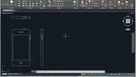 Thumbnail for entry AutoCAD-Basics of Isometric Drawing