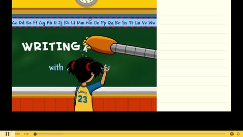 Thumbnail for entry Writing with the Senses - BrainPOP Jr.